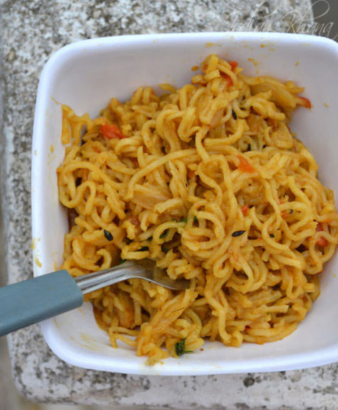 Maggi Masala Noodles Indian Style Recipe