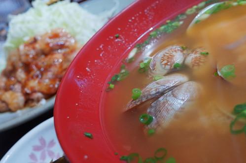 Asari miso soup RICOH GR