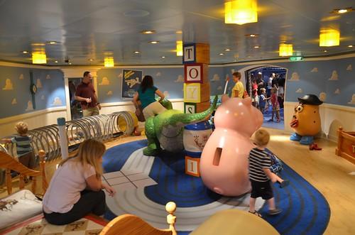 Toy Story Room In The Oceaneer Club