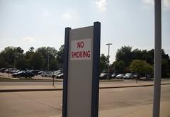 Belleville Metrolink no smoking 391