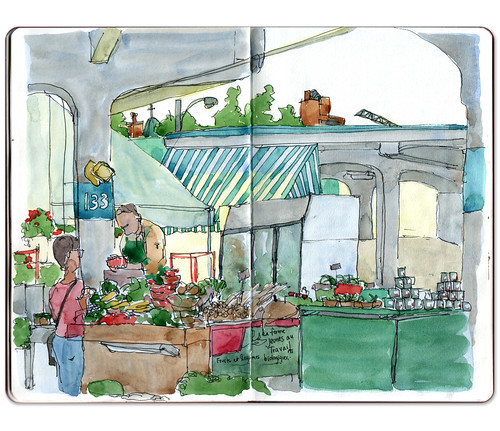 Marché Jean-Talon by Jennifer Appel