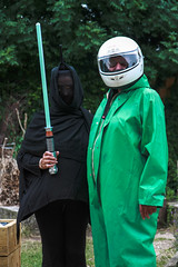 clothing, hazmat suit, green, costume,