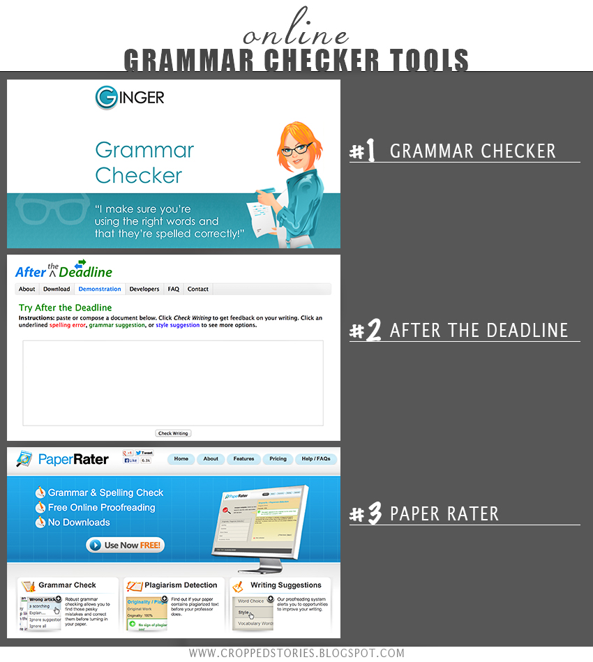 grammar check essay online Why you should use ms word grammar checker software for essays while doing research online, i realized that many students were searching for a free online essay checker for grammar, writing checker, or free paper corrector i then thought it a good idea to write a paper and use my inbuilt ms office and other standalone grammar checkers to check a paper i did and write an article on what.