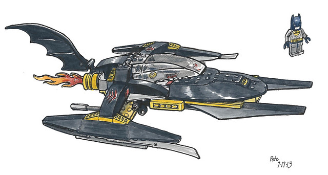 lego batman ship