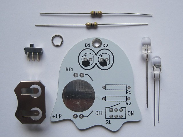 Ghost kit parts