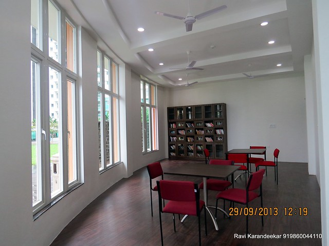 Library at Sangria Towers, Megapolis, Hinjewadi Phase 3, Pune 411 057 on 28th & 29th September 2013