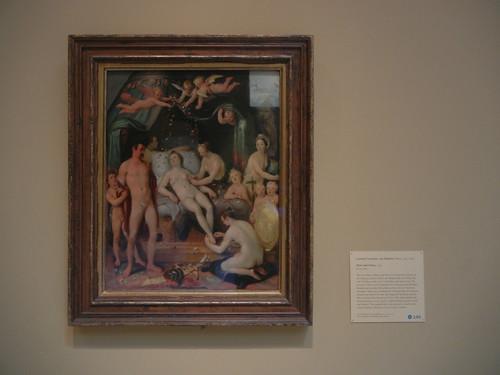 DSCN7695 _ Mars and Venus, 1599, Cornelis Cornelisz van Haarlem (1562-1638), Norton Simon Museum, July 2013