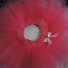 dance dress(0.0), flower(0.0), wheel(0.0), costume(0.0), petal(0.0), poppy(0.0), dance skirt(1.0), clothing(1.0), red(1.0), skirt(1.0), pink(1.0),