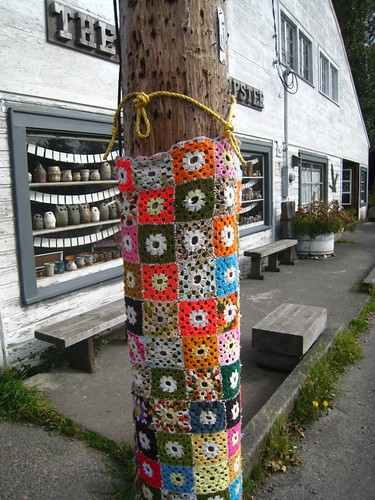 Crochet Bomb at Edison, WA