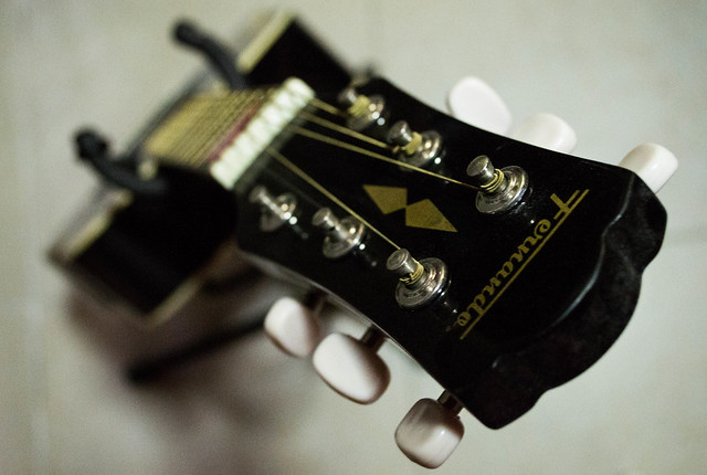 Guitar - High Angle