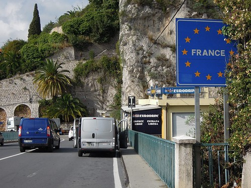フランス入国