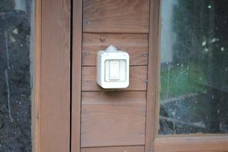 Summer house external light switch