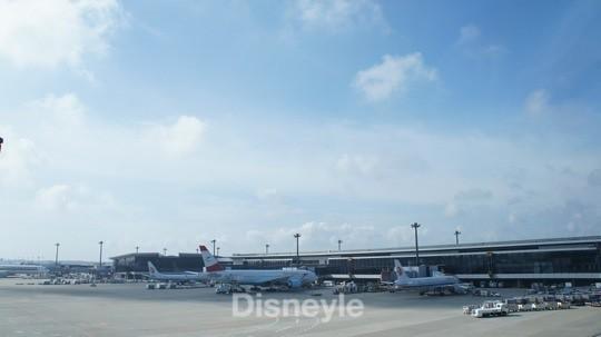 成田空港の景色