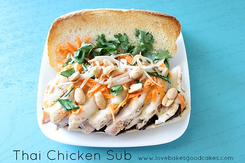 Thai Chicken Sub