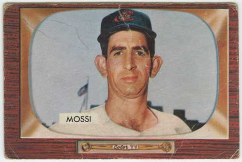 1955 Bowman Don Mossi