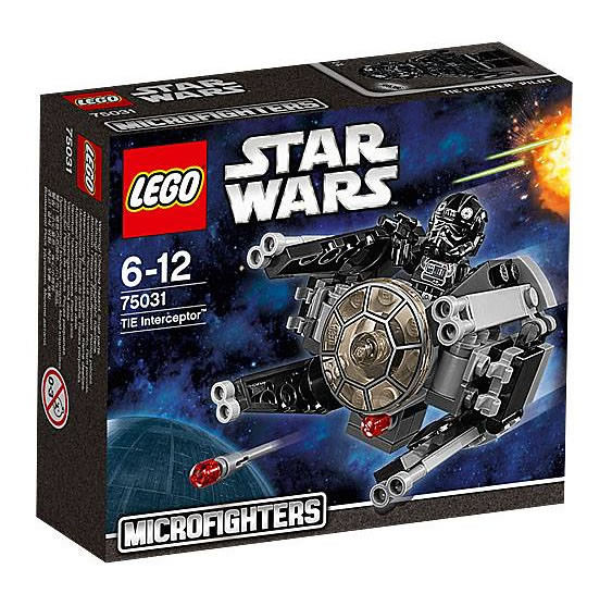 LEGO Star Wars MicroFighters 75031 - Tie Interceptor