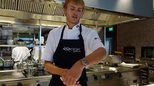 2009 Bocuse d'Or Winner Chef Geir Skeie at Osia, Resorts World Sentosa - Oct 2013