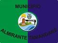Bandeira da cidade de Almirante Tamandaré