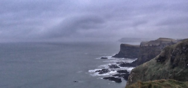 North Coast, a murky day.