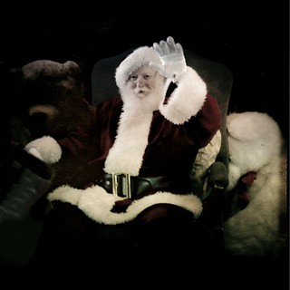 MOST Amazing Beautiful Santa I've Seen in My Life!