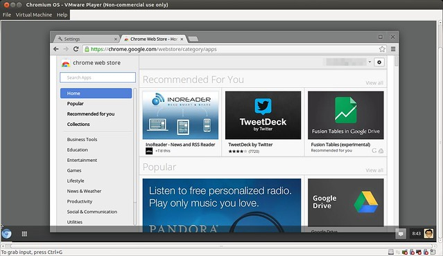 How to install and run Chromium OS on VMware Player - Xmodulo