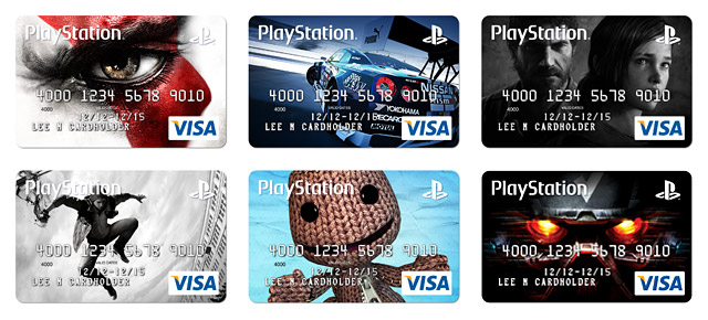 PlayStation Credit Cards
