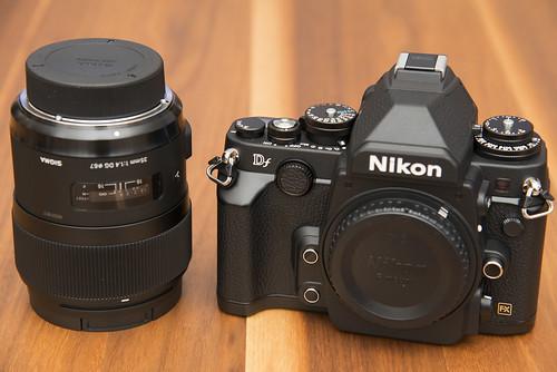 Nikon Df と Sigma 35mm F1.4 DG を買ってみた - Conversations With Myself