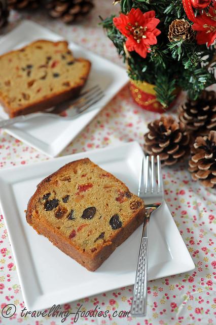 Christmas Fruit Loaf Cake Travellingfoodies