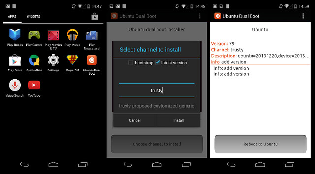 Ubuntu Touch + Android