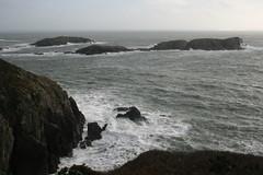 Rocks off Pembrokeshire