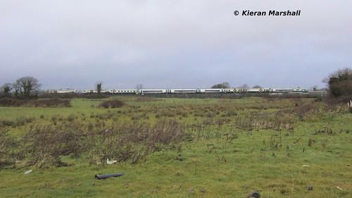 irish train rail railway trains railways caf irishrail rok intercity rotem 2014 portlaoise icr mark4 iarnród 22000 4008 22051 22434 éireann iarnródéireann 3pce laoistraincaredepot