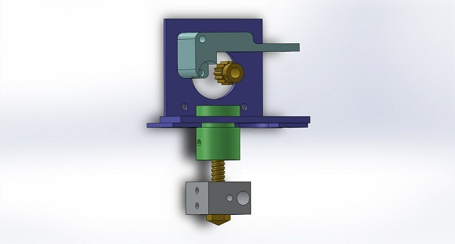 aSensar Extruder for RepRap and 3D Printers