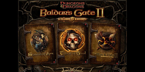 Baldur's Gate 2: Enhanced Edition available on iPad.