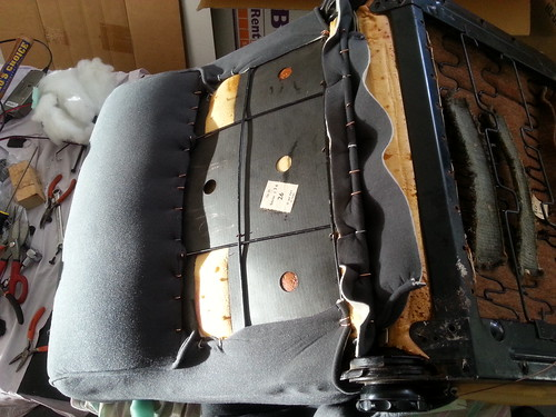 Citroen DS seat cover replacement part 6