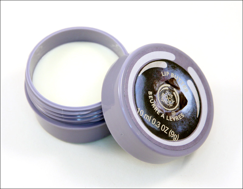 TBS blueberry special edition lip butter