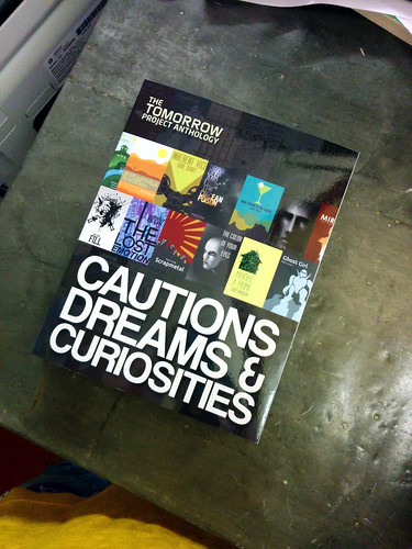 Cautions, Dreams and Curiosities anthology from the Tomorrow Project with Lawful Interception, the office, Hackney, London, UK