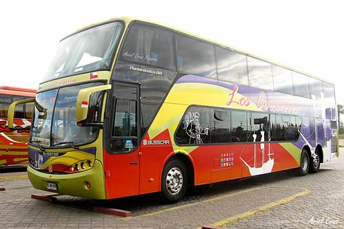 Los Corsarios (Pullman Bus) en La Serena | Busscar Panorâmico DD / BGWP24
