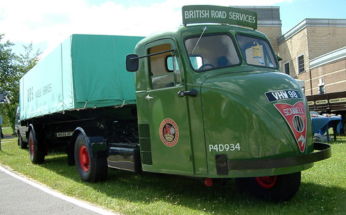 BRS Scammell Scarab Mechanical Horse - 1955