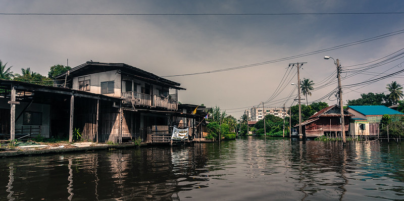 Waterways, Bangkok, Thailand