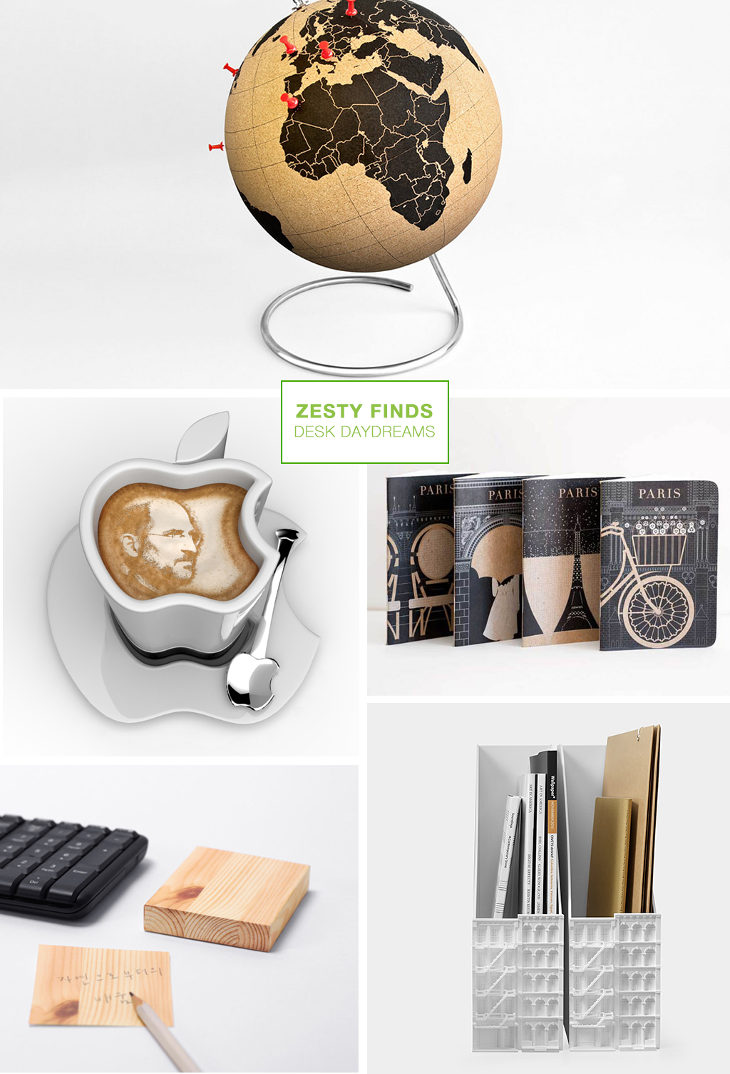 zesty finds // desk daydreams