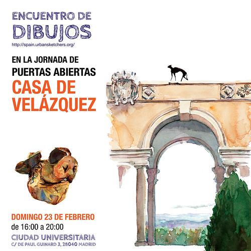 Encuentro de Dibujo en la Casa de Velázquez