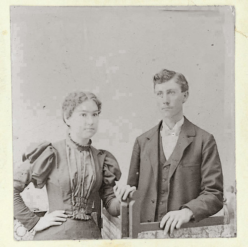 Couple portrait Glenn Taylor Mamie