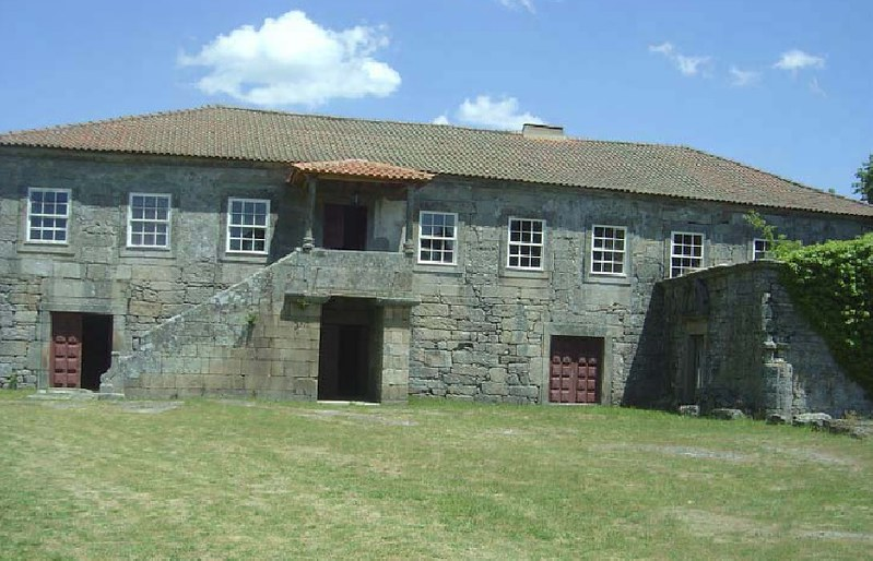 Paço de Vilar de Perdizes in Montalegre, PORTUGAL