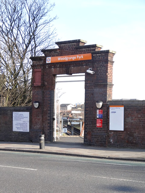 103 - Woodgrange Park station