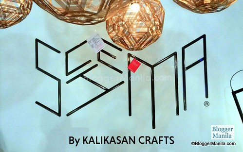 SCHEMA by Kalikasan Crafts is one of my favorite exhibitor with metal creations from lamps to tools. Photography is not much allowed here though but I was permitted to shoot their brand with a slight hint of the designs of the lamps (top of photo)