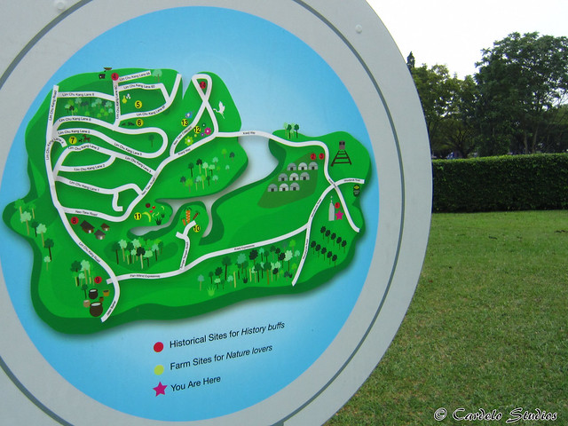 Kranji Heritage Trail Map