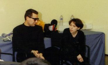 Con Pedro Otero