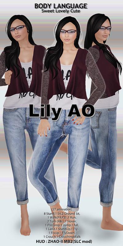 Lily AO set