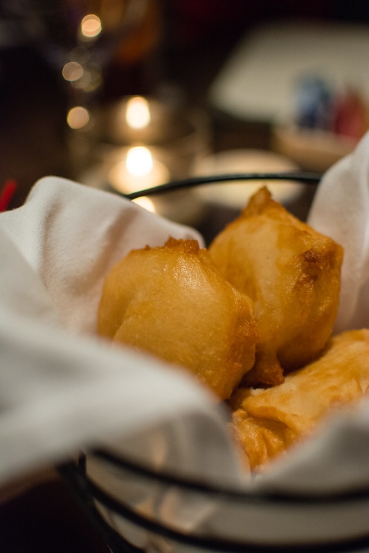 Beignets at Sidney Street Cafe