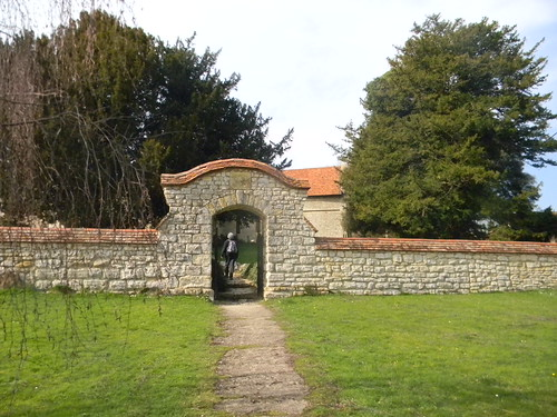 Dinton churchyard